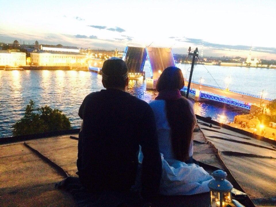 свидание на крыше развод мостов